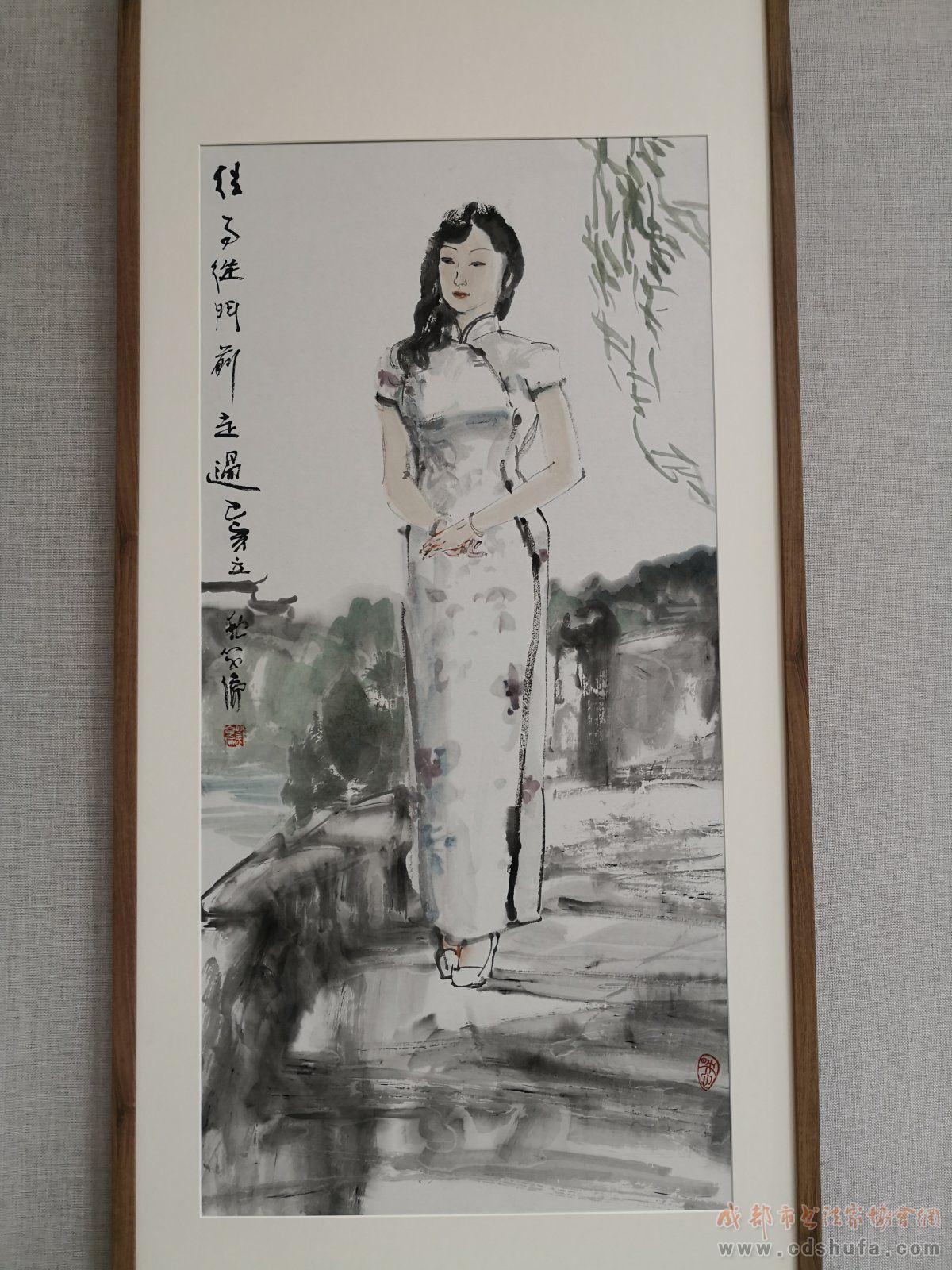 双流区庆祝新中国成立70周年美术书法作品展举行