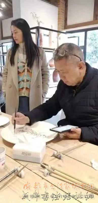 相约初冬 墨润邛窑——成都市锦江区书法家协会采风邛窑